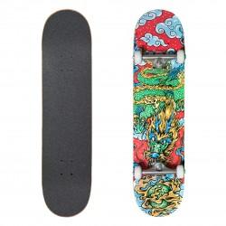 Skate Dragon/Silver/White