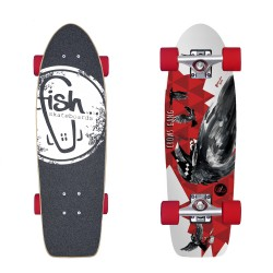 Cruiser Crow/Silver/Red