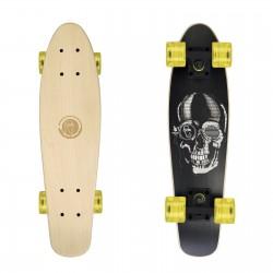 Cruiser Black Skull/Black/Transparent Yellow